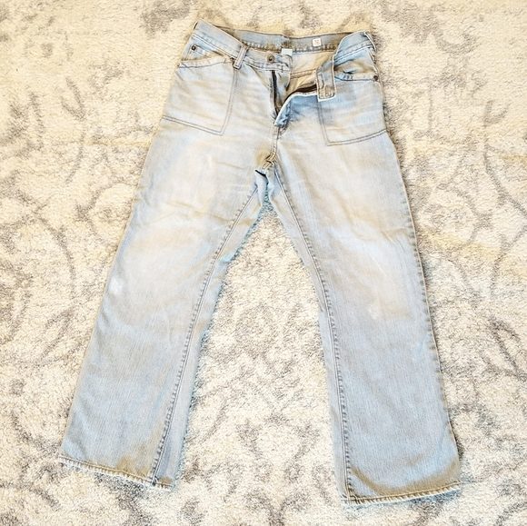 GUESS GREAT CONDITION VINTAGE BOOT CUT BLUE JEANS